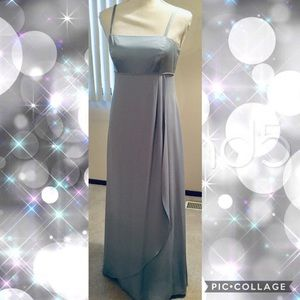 Alfred Angelo Powder Blue Evening Gown